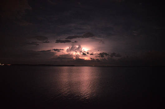Lightning Over the Bay by Karsun Designs Photography