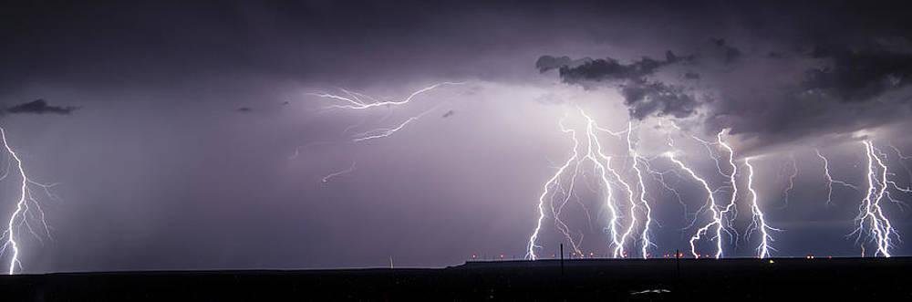 Lightning over the Wind Farm by John Dickinson