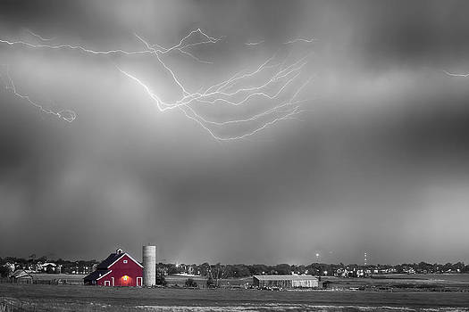 James BO Insogna - Lightning Storm And The Big Red Barn BWSC