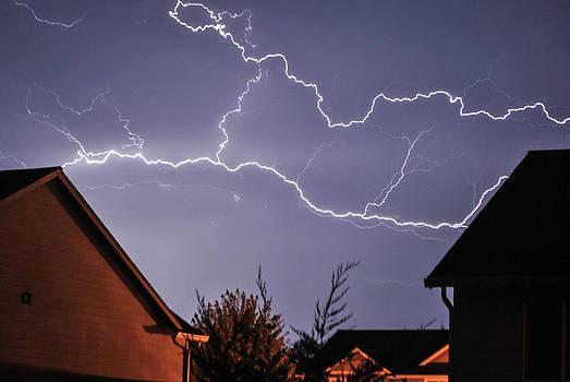 Lightning Streaks by Michael Trofimov