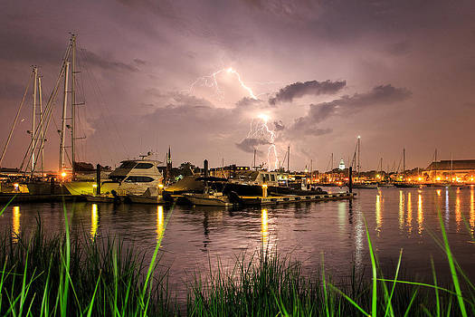 Lightning Strikes Annapolis by Jennifer Casey