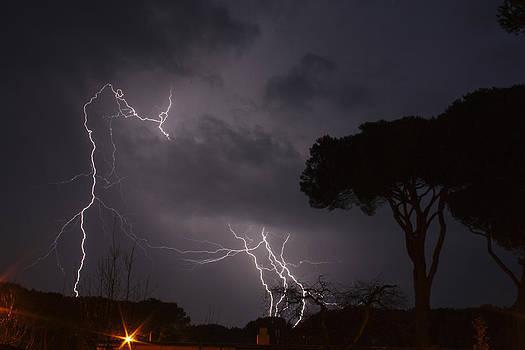 Lightning Strikes by Cassandra NightThunder