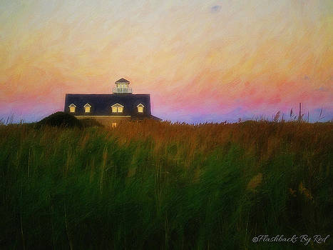 Lights in the Sea Oats by Melody McBride