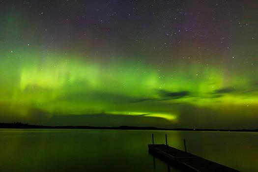 Lights over the Lake by Steve Burns
