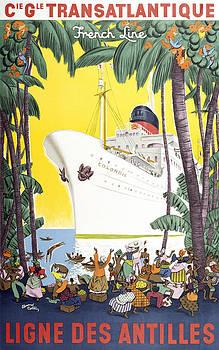 Ligne Des Antilles by Vintage Images