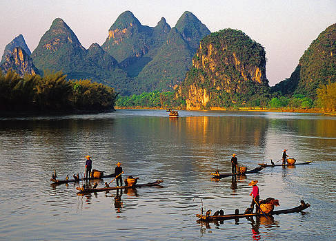 Dennis Cox - Lijiang fishermen