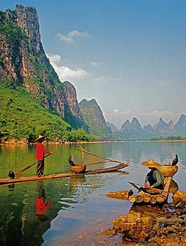 Dennis Cox - Lijiang fishing rafts
