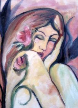 Like An Angel by Farfallina Art -Gabriela Dinca-