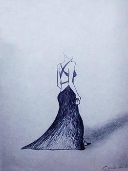 Lil' Black Dress by Cynthia Hilliard