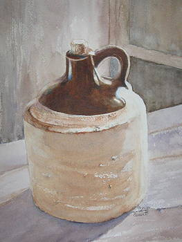 Lil' Brown Jug by Marilyn  Clement