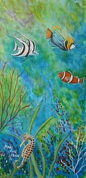 Lil Seahorse by Mary Ann Leake