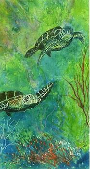 Lil Turtles by Mary Ann Leake
