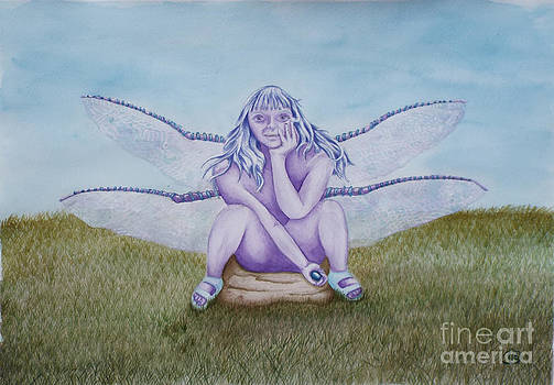 Jeanette Hibbert - Lila the Dragonfly Faery