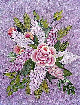 Barbara Griffin - Lilac and Rose Bouquet