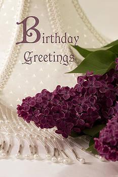 Sandra Foster - Lilac Birthday Greetings