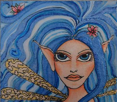 Lilac Elf by Lisa Buchanan