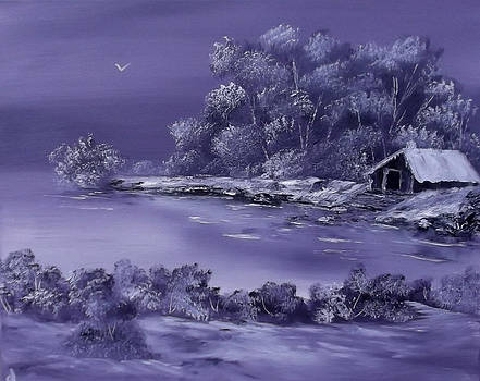 Lilac Lace of Winter Sold by Cynthia Adams