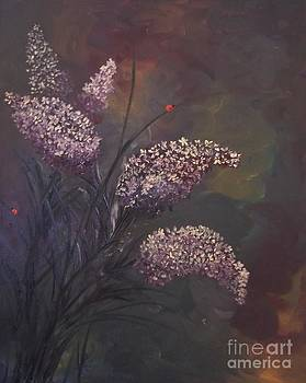 Lilacs and Ladybugs by Rhonda Lee