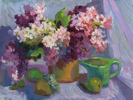 Diane McClary - Lilacs and Pears