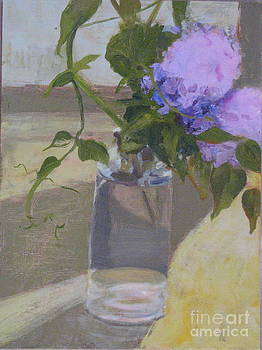 Lilacs and Peas by Candi Edmondson
