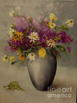 Lilacs in Silver by Kathleen Hoekstra
