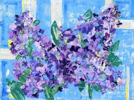 Lilacs by Paula Drysdale Frazell
