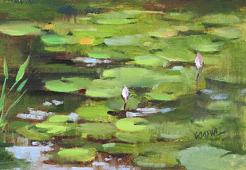 Lilies by Judy Crowe