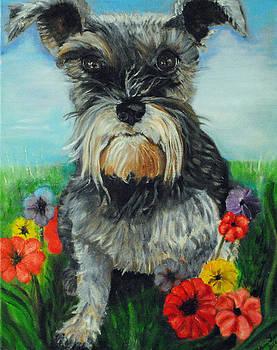 Lillie in a Garden by Melanie Wadman
