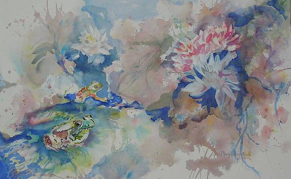 Lilly Pond by Mary Haley-Rocks