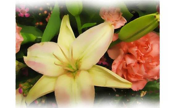 Lily Arrangement by Sandra Martin