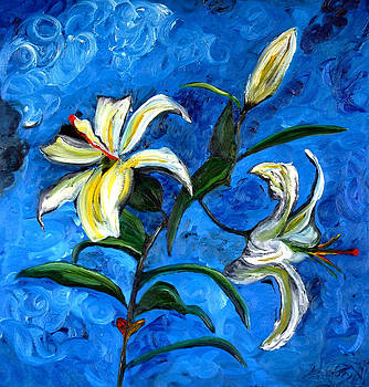 Lily by Impressionism Modern and Contemporary Art  By Gregory A Page