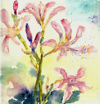Lily of summer by Toshiko Tanimoto