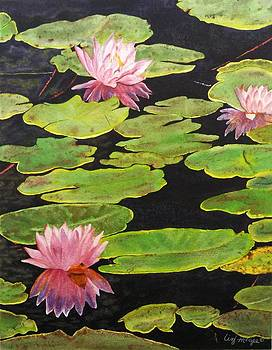 Lily Pond by Lizbeth McGee