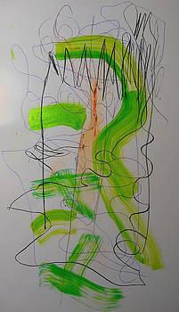 Lime 2 by Carol MASSA