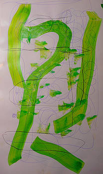 Lime Line by Carol MASSA