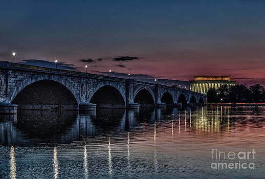 Lincoln at Sunrise by Mark East