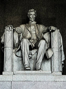 Lincoln Memorial by Kenneth Montgomery