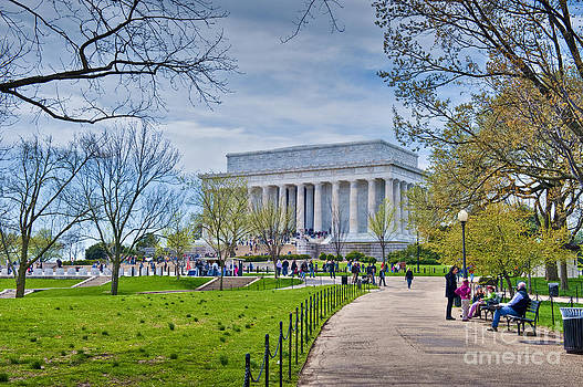David Zanzinger - Lincoln Memorial National Mall Washington DC  Memorial Park