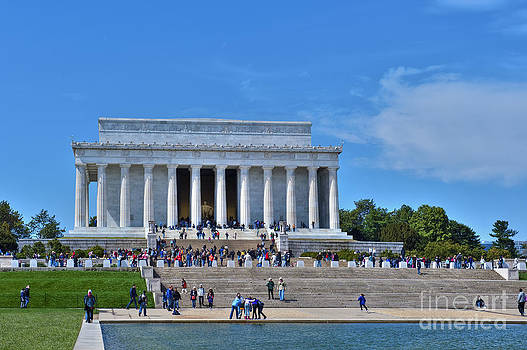 David Zanzinger - Lincoln Memorial Reflecting Pond National Mall Washington DC