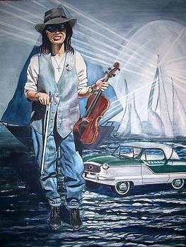 Linda On Water by Linda Vaughon