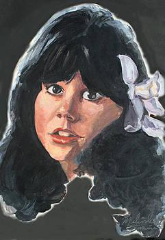 Linda Rondstadt by Melinda Saminski