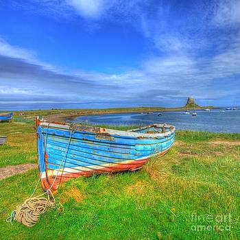 Lindisfarne by the Sea by John Kelly
