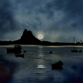 Lindisfarne Castle by Tanya Hall