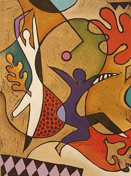Lindy Hop I by L Kesler