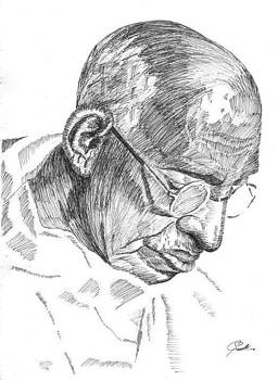 Line drawing by Sruthi Murali
