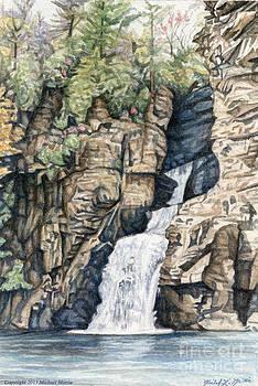Linville Falls by Michael  Martin