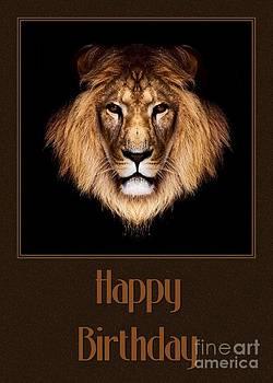 JH Designs - Lion Birthday