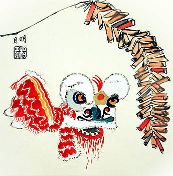 Lion Dance Performance by Ming Yeung