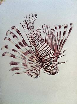 Lion Fish by Donny Johnson