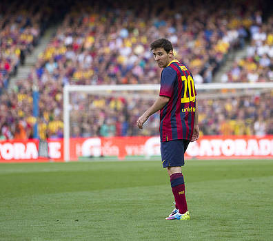 Lionel Messi by Nathan Rupert